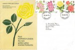 1976 Roses, Norwich Union Insurance Group & Peter Beales Roses FDC, Birmingham FDI