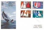 1975 Sailing, The Royal Ocean Racing Club FDC, First Day of Issue Philatelic Bureau H/S