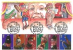 2001 Punch & Judy, Illustrated FDC, Punch & Judy Theatre Street London SW11 H/S