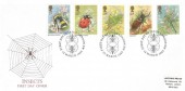 1985 British Insects, Historic Relics FDC, First Day of Issue London SW H/S