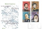 1972 Polar Explorers, Philcovers FDC, First Day of Issue London WC H/S