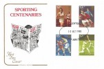 1980 Sporting Anniversaries, Cotswold FDC, WRU Centenary Cardiff Arms Park H/S