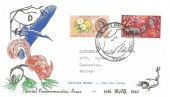 1963 National Nature Week, Illustrated FDC, Brownsea Island Opening Week Poole Dorset H/S