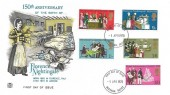 1970 General Anniversaries, Stuart FDC, Horsham Sussex FDI