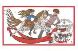1968 Christmas, Set of 3 Cameo Stamps Ltd, Maxicard Card FDC's, Selfridges Toy Fair London W1 H/S
