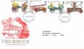 1974 Fire Service, Post Office FDC, London SE1 FDI HQ of the London Fire Brigade
