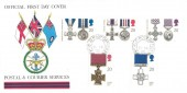 1990 Gallantry, Postal & Courier Services FDC, Field Post Office 515 cds