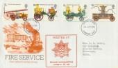 1974 Fire Service Legislation FDC London SE1 FDI, HQ London Brigade Cachet