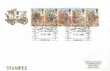 1989 The Lord Mayor's Show Official Stampex FDC, Autumn Stampex/BPE London SW1 H/S