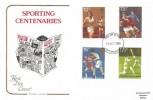 1980 Sporting Anniversaries, Cotswold FDC, Twickenham FDI