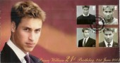 2003 Prince William 21st Birthday Scott Official FDC