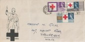 1963 Red Cross Centenary, Florence Nightingale FDC, Bournemouth - Poole First Day of Issue Slogan