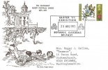 1971 General Anniversaries, Rugby School FDC, 9p Rugby stamp only Ulster '71 Exhibition Botanic Gardens Belfast H/S