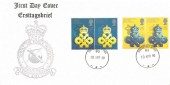 1990 Queen's Award to Industry, RAF Station Bruggen FDC,Force Post Office 93 cds