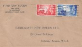 1948 Channel Islands Liberation, Darracott New Issues Ltd FDC, Guernsey Cancel