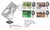 1964 Geographical Congress, G20 Medical Mailing Co. Ltd. FDC, First Day of Issue Greenwich SE10 Slogan