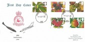 1993 Autumn, RAF Bruggen FDC, Forces Post Office 93 cds