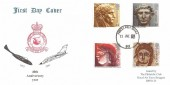 1993 Roman Britain, RAF Bruggen FDC, Forces Post Office 93 cds