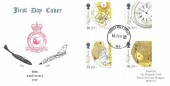 1993 Marine Timekeepers, RAF Bruggen FDC, Forces Post Office 93 cds