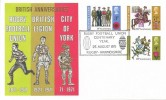 1971 General Anniversaries, Thames FDC, Rugby Football Union Centenary Year Rugby Warwickshire H/S