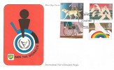 1981 Year of Disabled People, BP Aids FDC, London EC FDI