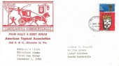 1966 Christmas, American Topical Association FDC, 3d Ordinary Stamp only, Bethlehem Llandeilo Carms. FDI