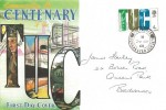 1968 British Anniversaries, Connoisseur FDC, 4d TUC Stamp, Tolpuddle Dorchester Dorset cds