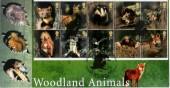 2004 Woodland Animals Steven Scott Official FDC