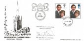1981 Royal Wedding, Norwich Cathedral Official Cover, Norwich Norfolk FDI, Signed by The Very Reverend D L Edwards Dean of Norwich