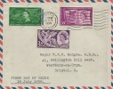 1958 Commonwealth Games, Air Letter FDC, Bristol A Cancel
