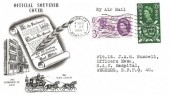 1960 The General Letter Office, BPA/PTS FDC, Norwich Wavyline Cancel