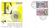 1960 Europa, Italian Illustrated FDC, London Chief Office EC1 cds