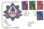 1978 25th Anniversary of the Coronation, Cotswold Fire Service National Benevolent Fund FDC, First Day of Issue Philatelic Bureau Edinburgh H/S