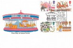 1983 British Fairs, Rowell Lions Club Official FDC, Rowell Lions Rothwell Kettering Northants. H/S