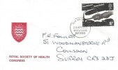 1976 Social Pioneers & Reformers, Royal Society of Health Congress FDC, 8½p stamp only, Eastbourne East Sussex FDI