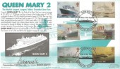 2004 Ocean Liners, Royal Navy Cover Group Official FDC, Pride of the Fleet Queen Mary 2 Southampton H/S. Signed by Commodore R W Warwick First Master QM2