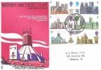 1969 British Cathedrals, Trident Metropolitan Cathedral Liverpool FDC, Metropolitan Cathedral Liverpool H/S