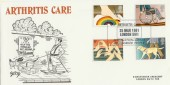 1981 Year of Disabled People Arthritis Care Arlington Official FDC, Arthritis Care International Year of  Disabled People London SW1 H/S