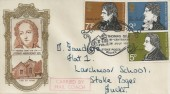 1971 Literary Anniversaries, Thomas Gray FDC, Thomas Gray Bicentenary Stoke Poges Bucks. H/S, Carried by Mail Coach Cachet