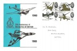 1965 Battle of Britain, Pair of RAF Waddington FDC's, Lincoln cds