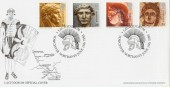 1993 Roman Britain Sponne School Official FDC
