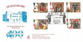 1991 Christmas, Official Salvation Army FDC, Joy to the World Christmas Greetings The Salvation Army London SW1 H/S