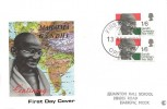 1969 Gandhi, Connoisseur FDC, Large First Day of Issue Postmark (No Town)
