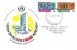 1965 United Nations & International Co-operations Year, Connoisseur FDC, Stockport Cheshire FDI