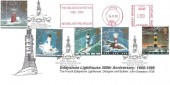 1998 Lighthouses, Eddystone Lighthouse 300th Anniversary FDC, 300th Anniversary The Original Eddystone Lighthouse Plymouth H/S + The Nelson Exhibition 1995 - 2005 National Maritime Museum Meter Mark