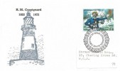 1972 General Anniversaries, Philcovers FDC, 7½p  HM Coastguard stamp only, First Day of Issue London EC H/S