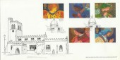1998 Christmas, Bletchley Official FDC, Bletchley Milton Keynes H/S