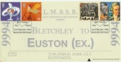 1999 Travellers' Tale Bletchley Park Official FDC