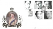 2002 Queen's Golden Jubilee, Buckingham Official FDC, Golden Jubilee Windsor H/S
