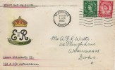 1952 QEII Definitive Issue 1½d & 2½d, Neat Hand Illustrated FDC, Wokingham Berks. Cancel